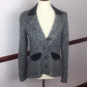 SPARROW BLAZER WITH ELBOW PADS BUTTON DOWN